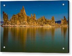The Ghost Ship At Mono Lake Acrylic Print