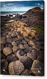 The Giant's Causeway - Rocky Road Acrylic Print by Inge Johnsson