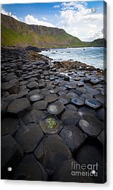 The Giant's Causeway - Staircase Acrylic Print by Inge Johnsson