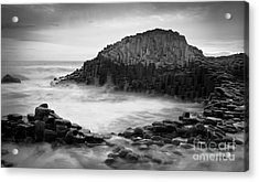 The Giant's Cove Acrylic Print by Inge Johnsson