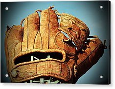 The Giants Glove Acrylic Print by Holly Blunkall
