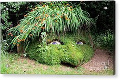 The Giant's Head Heligan Cornwall Acrylic Print
