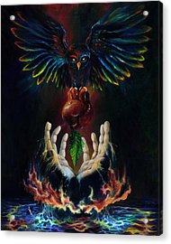 The Gift Acrylic Print by Kd Neeley
