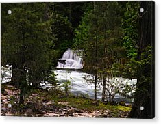 The Gift Of A Hidden Wterfall Acrylic Print by Jeff Swan