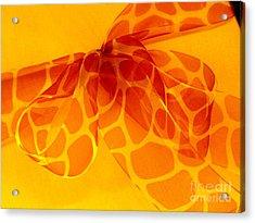 The Gift Acrylic Print by Ranjini Kandasamy