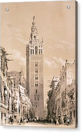 The Giralda, Seville Acrylic Print by David Roberts