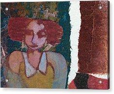 The Girl Waits Acrylic Print