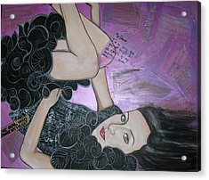 The Girl Who Broke My Heart Acrylic Print