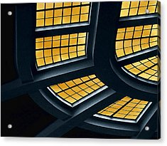 The Glass Ceiling Acrylic Print by Wendy J St Christopher