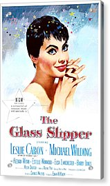 The Glass Slipper, Us Poster, Leslie Acrylic Print