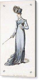 The Glengary Habit, Fashion Plate Acrylic Print