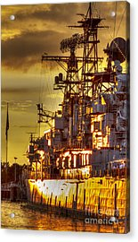 The Glory Days -  Uss Sullivans Acrylic Print by Darleen Stry
