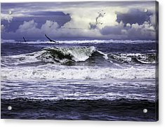 The Glory Of Morning On The Oregon Coast Acrylic Print