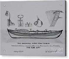 The Gloucester Seine Boat Acrylic Print