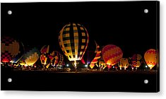 The Glow Acrylic Print by Danny Pickens