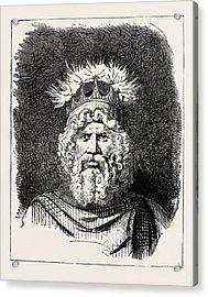The God Thor Acrylic Print by English School