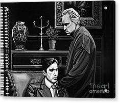 The Godfather  Acrylic Print by Paul Meijering