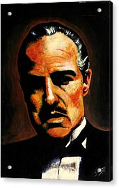 Godfather Acrylic Print by Salman Ravish
