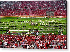 Acrylic Print featuring the photograph The Going Band From Raiderland by Mae Wertz