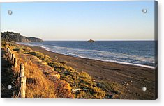The Golden Coast Acrylic Print