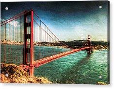 The Golden Gate Bridge Acrylic Print