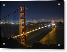 The Golden Gate Bridge Acrylic Print by Rick Berk