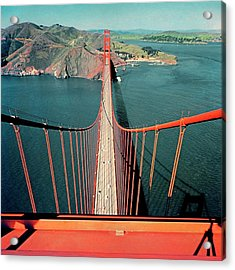 The Golden Gate Bridge Acrylic Print by Serge Balkin