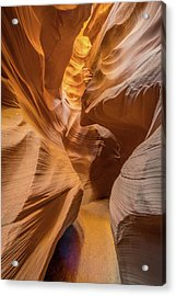 The Golden Passage Way Acrylic Print by Jeffrey C. Sink