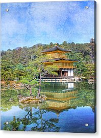 The Golden Pavilion Acrylic Print by Juli Scalzi