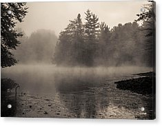 The Golden Pond Acrylic Print