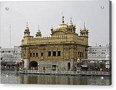 The Golden Temple In Amritsar Acrylic Print