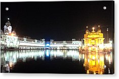 The Golden Temple Acrylic Print