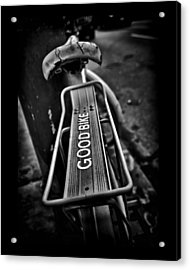 The Good Bike Acrylic Print