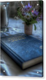 The Good Book Acrylic Print by Nathan Wright