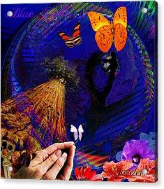 The Good Earth  Sequoia Acrylic Print by Joseph Mosley