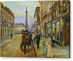 The Good Ole Days-an Evening Out Acrylic Print by Andrew Read