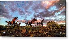 The Good Run Acrylic Print by James Heckt
