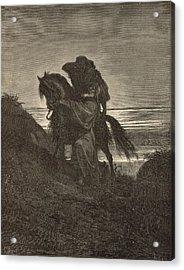 The Good Samaritan Acrylic Print by Antique Engravings