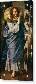 The Good Shepherd  Acrylic Print by Philippe de Champaigne