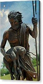 The Good Shepherd Acrylic Print by Stephen Stookey