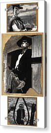 The Good The Bad And The Grouchy Acrylic Print by Justin Clark