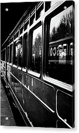 The Goodbye Girl ....leaving Acrylic Print by Richard Bland