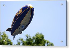 The Goodyear Blimp N3a Acrylic Print