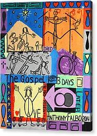 The Gospel Acrylic Print