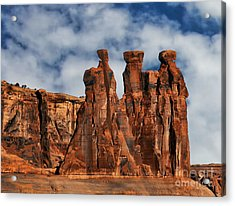 Acrylic Print featuring the photograph The Gossips by Shirley Mangini
