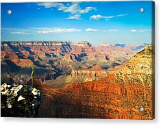 The Grand Canyon At Sunset Acrylic Print by Gregory Ballos