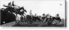 The Grand National At Aintree Acrylic Print