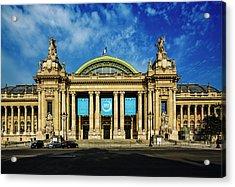 The Grand Palais In Paris, France Acrylic Print