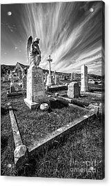The Graveyard Acrylic Print by Adrian Evans