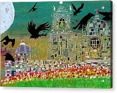 The Graveyard  Acrylic Print by Tyler Schmeling